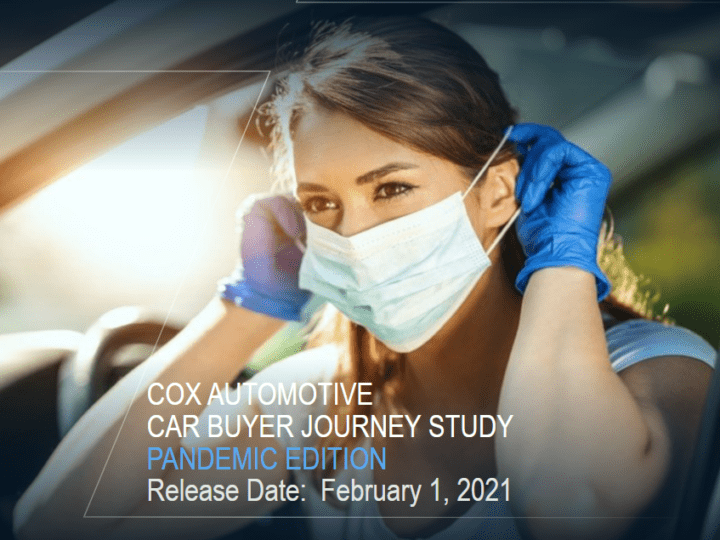 Cox Automotive Car Buyer Journey Study Pandemic Edition February 2021