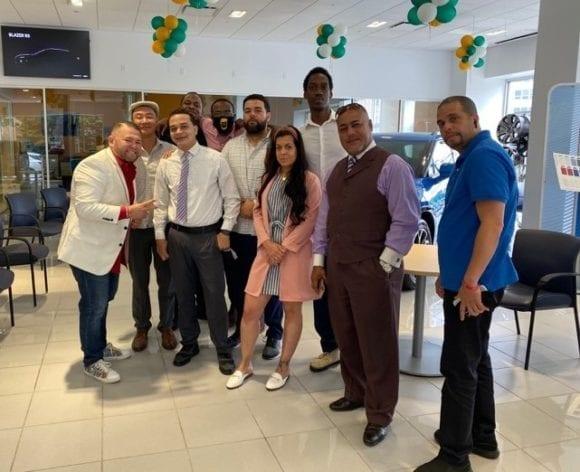 dealership sales team