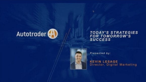 Webinar title page: Today's Strategies for Tomorrow's Success