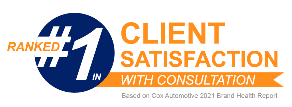 Autotrader is ranked #1 in client satisfaction with consultation (based on Cox Automotive 2021 Brand Health Report)