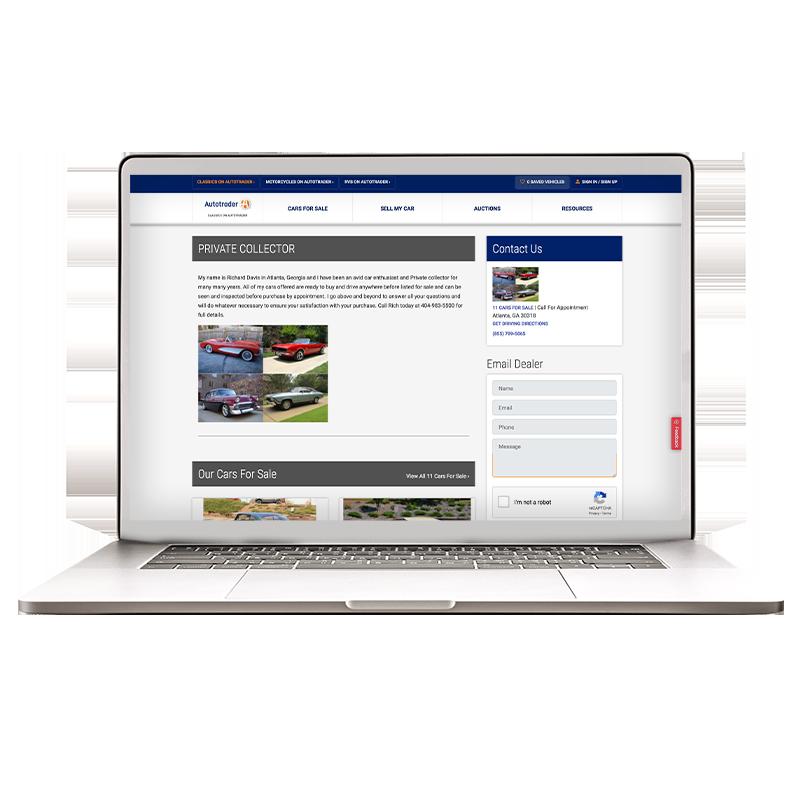 Autotrader specialty dealer profile