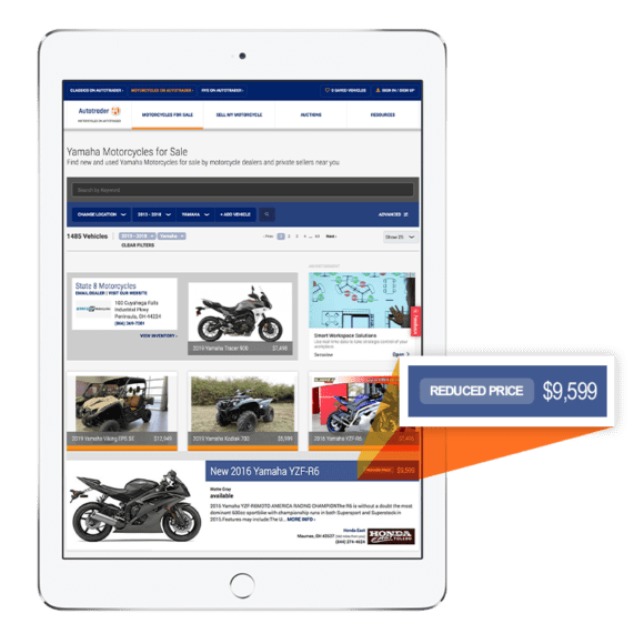 motorcycles.autotrader.com motorcycle listings